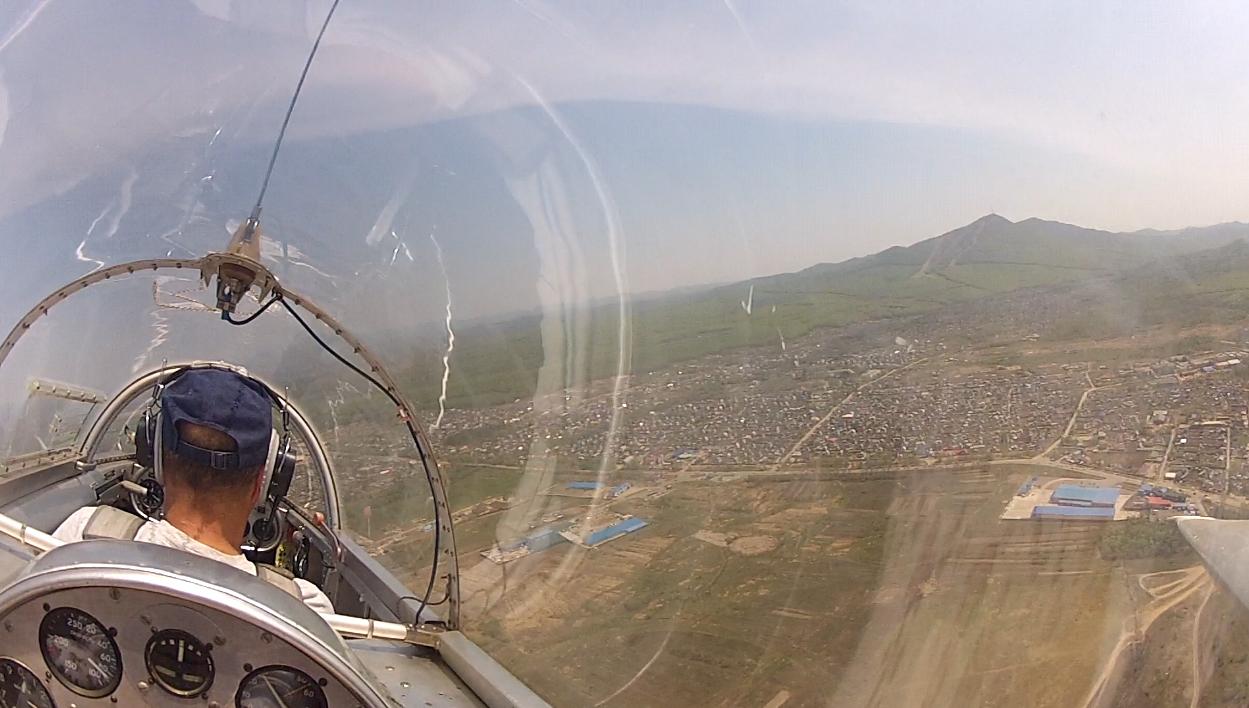 Полёт над Арсеньевым, июль 2014