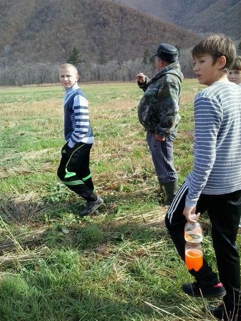 Юные краеведы в Нижней Бреевке